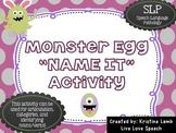 Monster Egg NAME IT Game! {Articulation & Language}