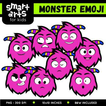 Monster Emoji Clip Art