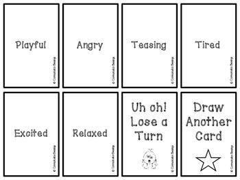 Monster Emotion Cards (Freebie)