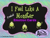 Monster Feelings and Emotions Cards Freebie