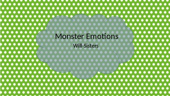 Monster Emotions Posters