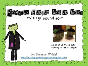 Monster Ending Sound Sort