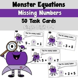 Monster Equations using Missing Numbers with Simple Addition and Subtraction