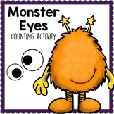 Monster Eyes Counting Activity 0 - 20