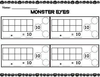 Monster Eyes - Decomposing 10