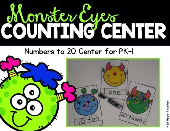 Monster Eyes--Sets to 20 for PK-1