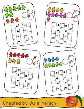 Monster Fact Families with Numbers to 10