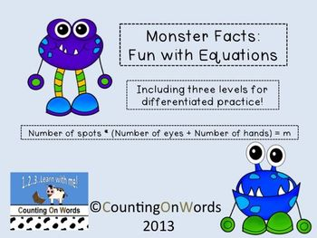 Monster Facts: Fun with Equations
