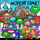 Monster Family Clip Art Set - Chirp Graphics