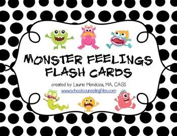 Monster Feelings Cards