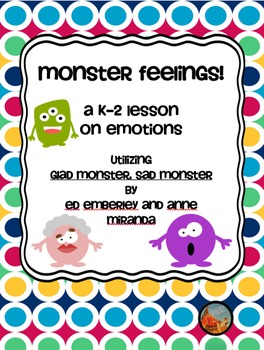 Monster Feelings Lesson Plan