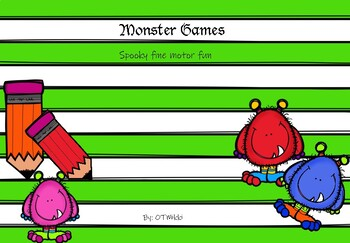 Monster Fine Motor Dash