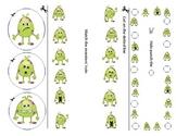 Monster Fine Motor Single Worksheet