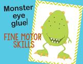 Monster Fine Motor Skills Activity