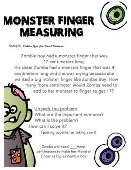 Monster Fingers Measuring