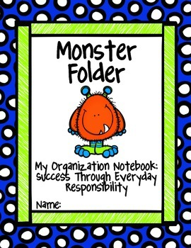 Monster Folder cover