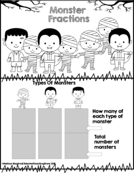 Monster Fractions-A Halloween Freebie Treat