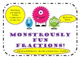 Monster Fractions on a Number Line