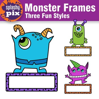 Monster Frames Clipart