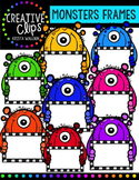 Monster Frames {Creative Clips Digital Clipart}