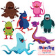 Monster Friends Clip Art Set
