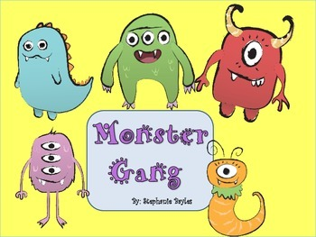 Monster Friends Downloadable Clip Art