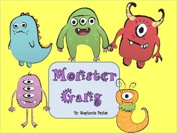 Monster Friends Downloadable Clip Art