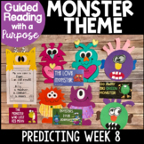 Monsters Bundle Guided Reading with a Purpose Predicting