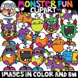 Monster Fun Clipart {Monster Clipart}