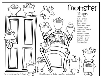 Monster Fun Math & Literacy
