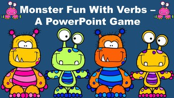 Monster Fun With Verbs - A PowerPoint Game