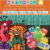 Monsters 2 with... The Love Monster,  Monsters Wear Underpants & More