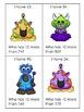 Monster Games & Activities - Add 10
