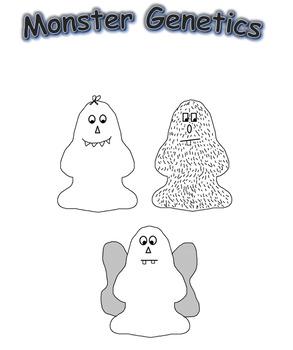 Monster Genetics- Alleles, Genotypes, and Phenotypes