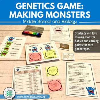 Monster Genetics Game