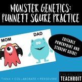 Monster Genetics: Punnett Square Practice