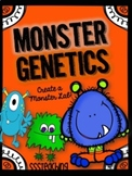 Monster Genetics (Traits, heredity, punnett squares, dominant, recessive)
