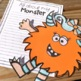 Monster Glyph ~ Math and Writing Activity Included!