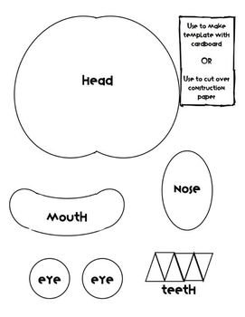 Monster Glyph, Writing and Display for Kindergarten