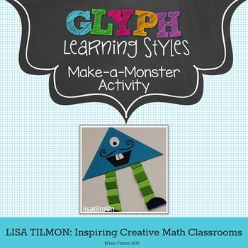 Learning Styles Make-a-Monster Glyph Activity
