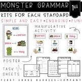 Monster Grammar: First Grade CC Aligned Mini Lessons for t
