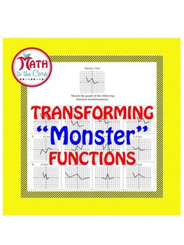 Monster Graph Function Transformations