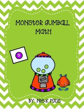 Monster Gumball Math
