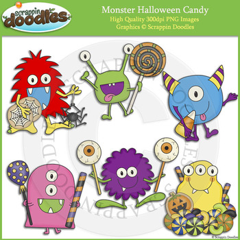 Monster Halloween Candy