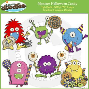 Monster Halloween Candy