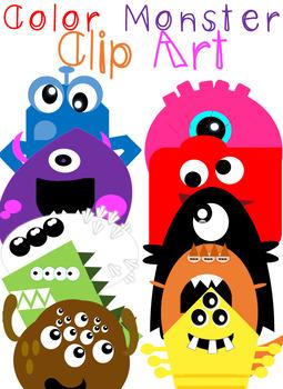 Monster Helper and Clip Art Bundle