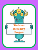 Monster Heredity Project  *Editable*