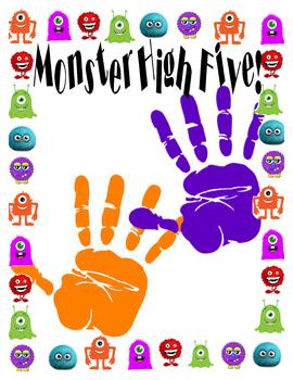 Monster High Five Sight Words