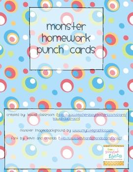 Monster Homework Pass