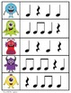 Monster Hunt: Write-the-room rhythm activity